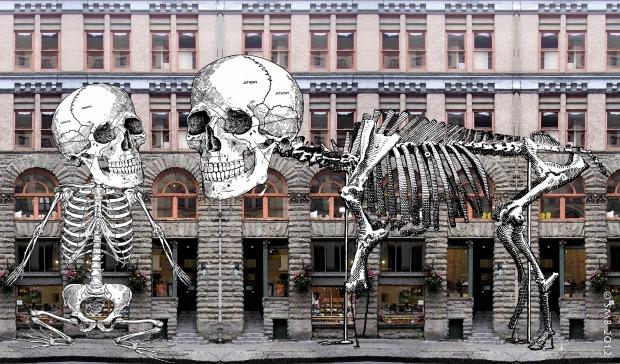 SkeletonStreetMural d