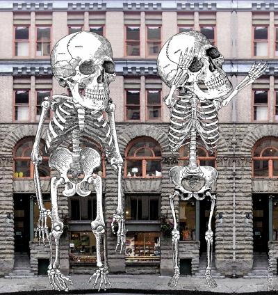 SkeletonStreetMural e